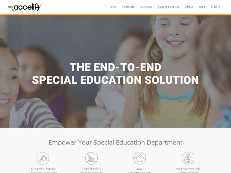 educational web redesign