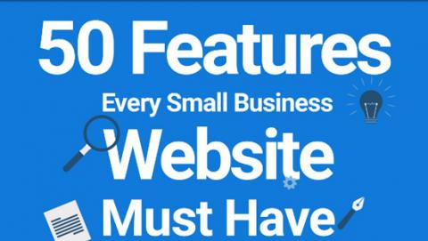 50 Web Design Features Every Small Business Website Must
