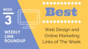weekly best web design links