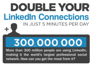 Double linkedin connections