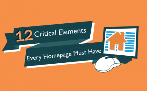 Critical Elements Every Homepage Needs (Infographic) 1