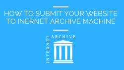 How to Use Internet Wayback Machine to Archive a Website 3