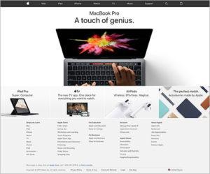 whitespace for web design