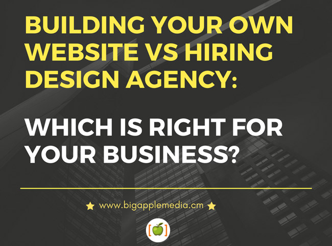Building your own website vs hiring design agency which for Design your own commercial building
