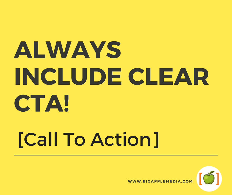 why use call to action