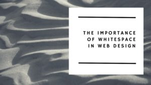 use of whitespace in web design