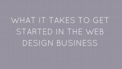 How To Start a Successful Web Design Business 1