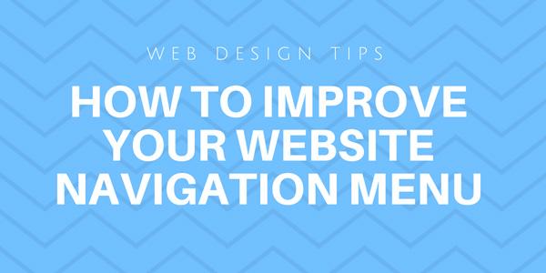 How to Improve Your Website Navigation Menu (Infographic) 6