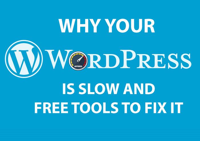 tools to make WordPress faster
