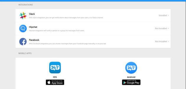 chatbot apps integration