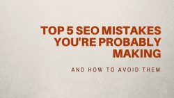 on-page seo mistakes
