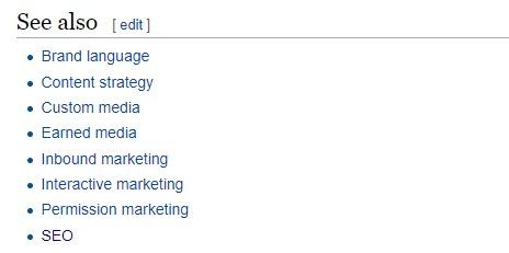 Wikipedia blog ideas