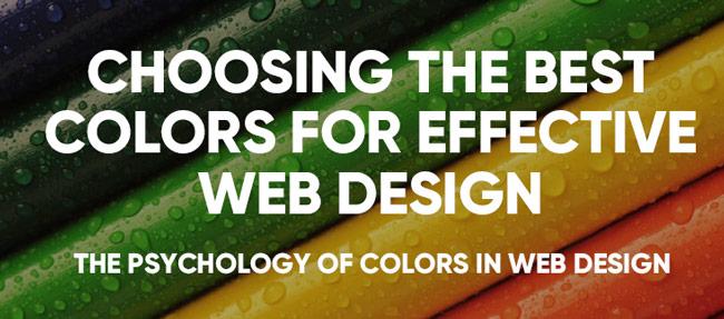 choose right color web design