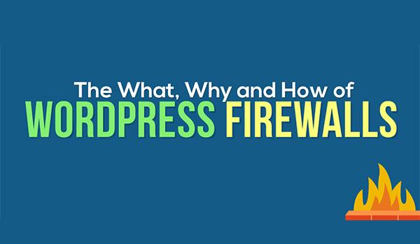 what is wordpress firewall