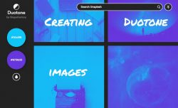 duotone images tools
