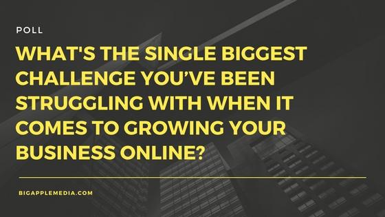 marketing poll biggest challenge