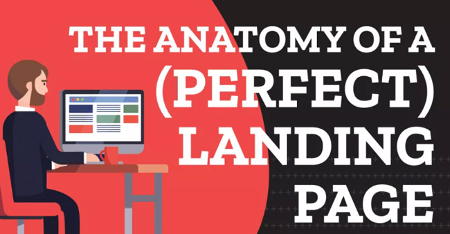 how to design perfect landing page