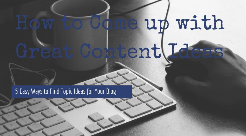 blog topics infographic