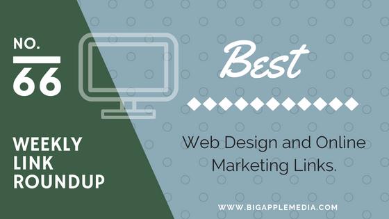 weekly design marketing links roundup