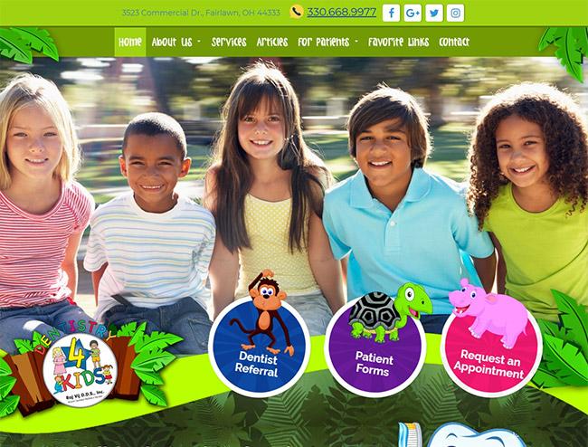 The Best Dental Websites. Design Inspiration (Updated 2021) 3