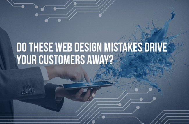 top website mistakes