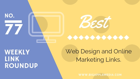 weekly design and marketing links