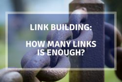 link building how many links
