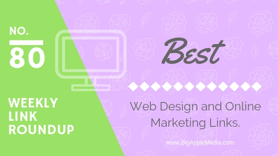 weekly marketing and design links