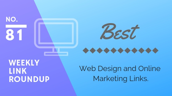 weekly design and marketing link roundup