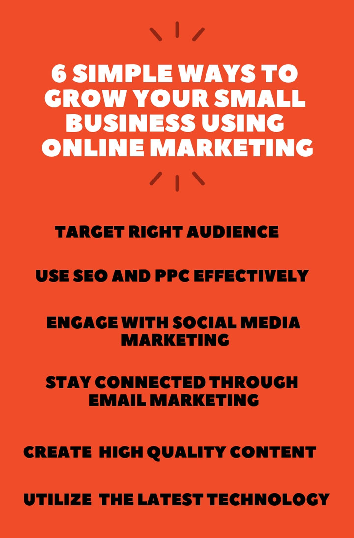 small business online marketing tips