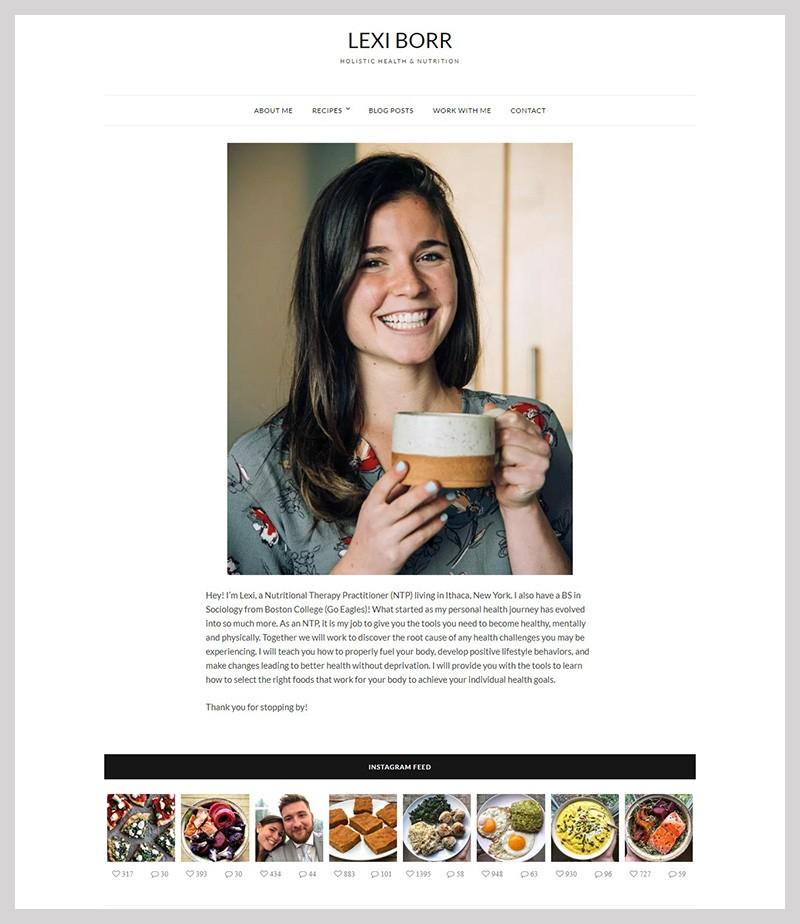 practitioner website redesign
