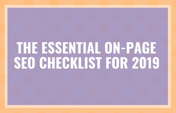 seo on-page tips 2019