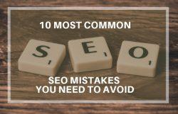 avoid seo mistakes