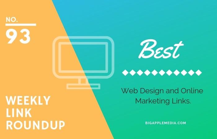 web design and marketing links roundup