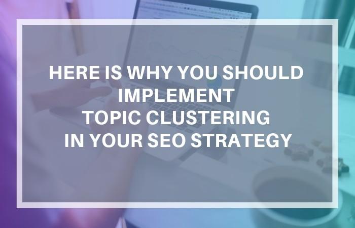 clustering seo pillar content