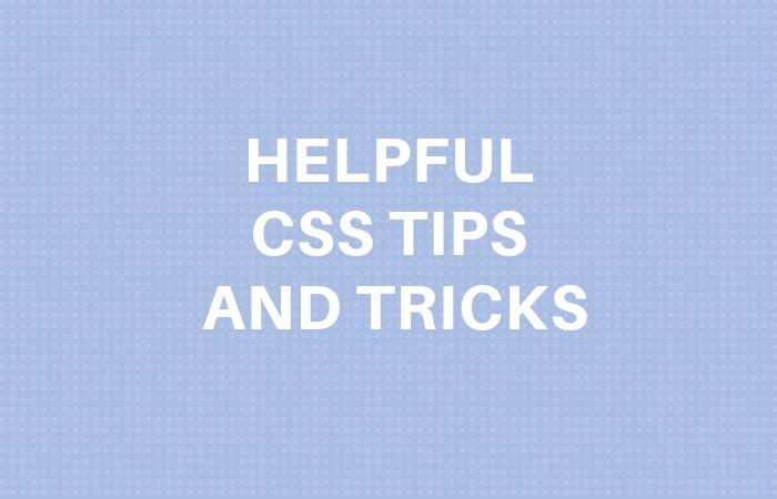 advanced css tips