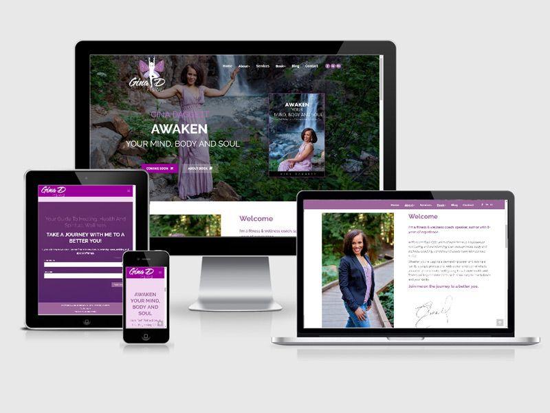 wellness web redesign