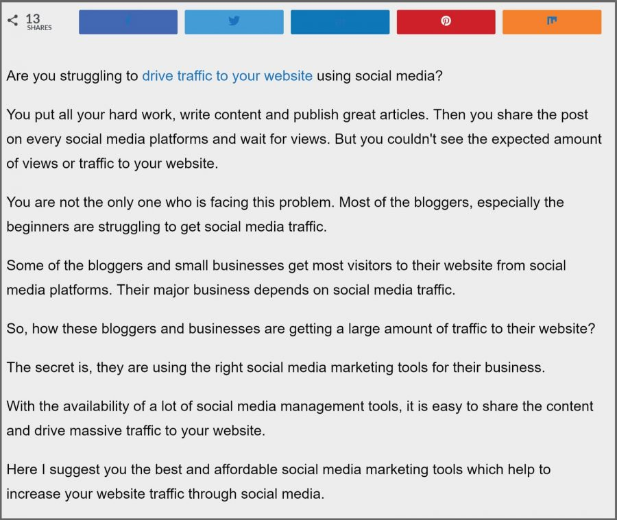 11 Proven On-page SEO Techniques To Skyrocket Your Traffic 1