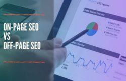 difference between off-page seo and on-page seo