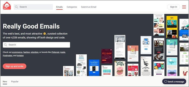 Email Design Inspiration Resources, Best Practices & Examples 1