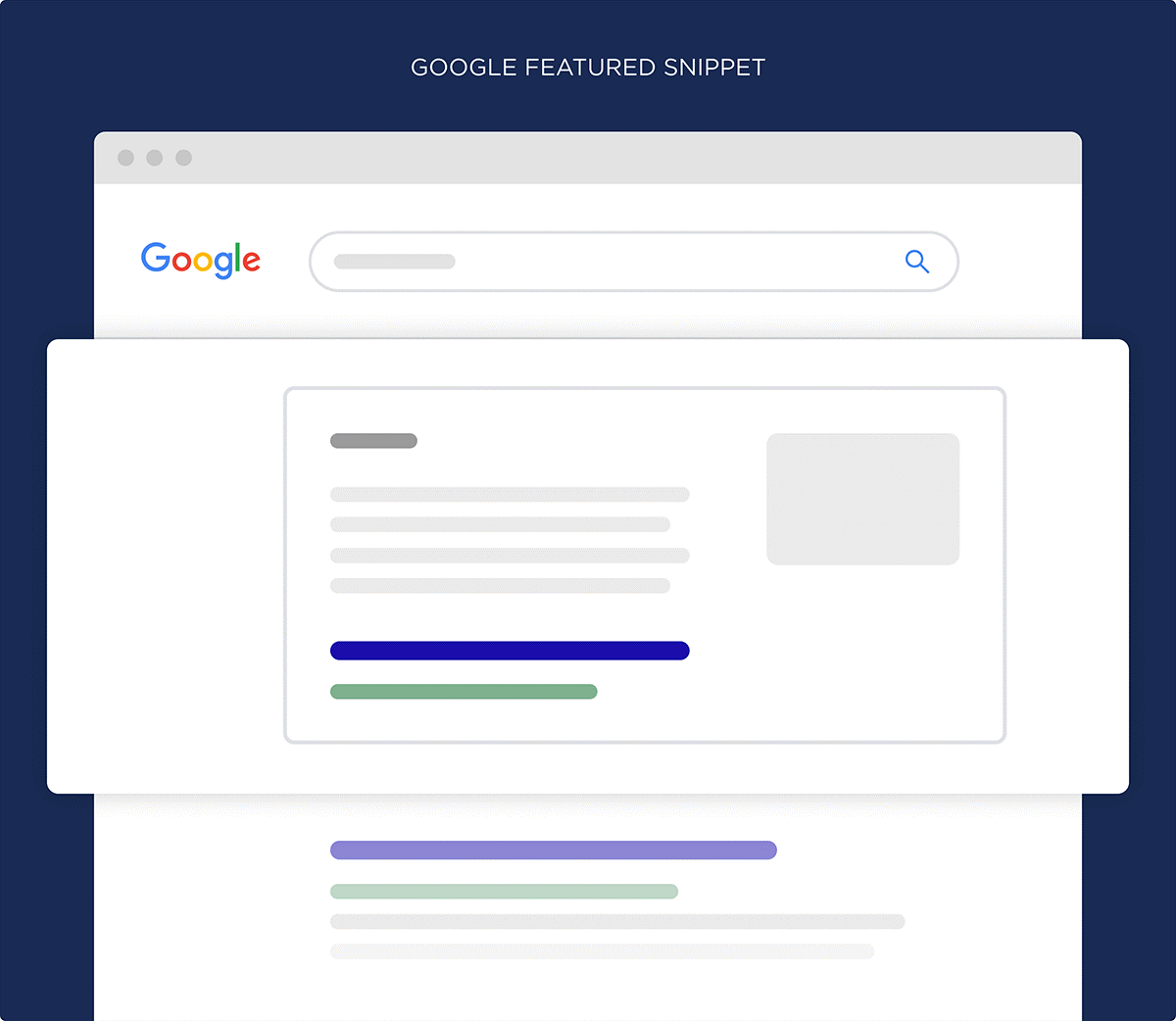 example google snippet