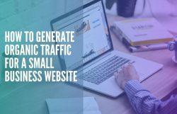 small business website organic traffic tips