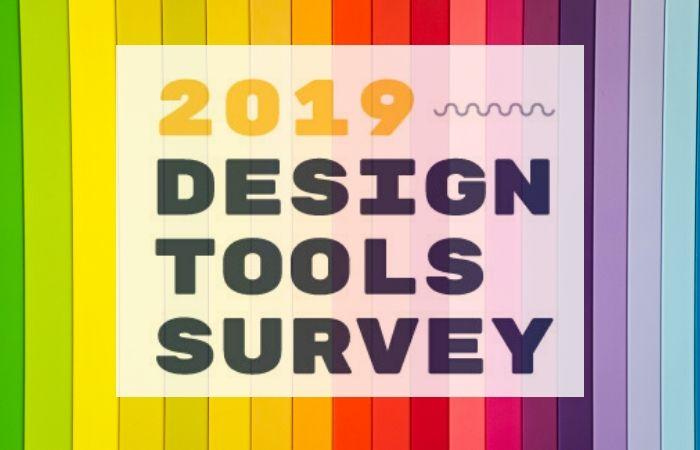 most popular design tools survery