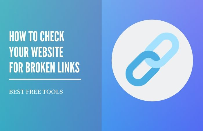 how to check for broken links