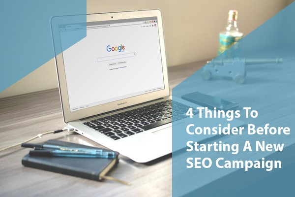 how to start seo campaign