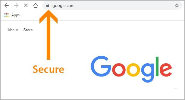 website is secure