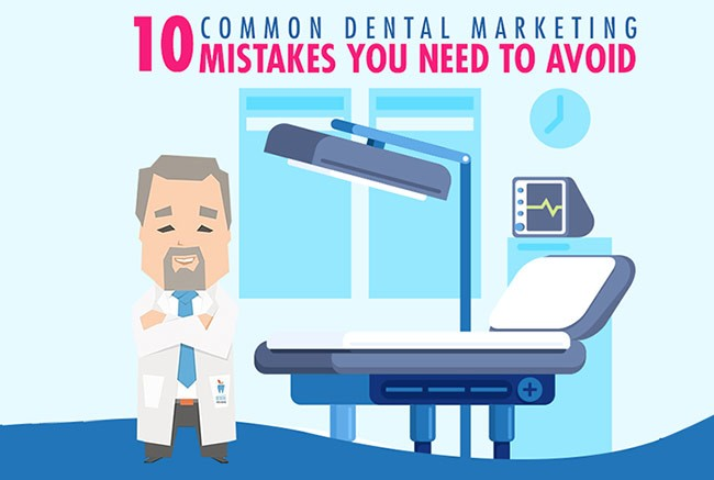 marketing mistakes dentists make