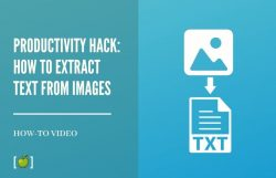 how to extract text from images
