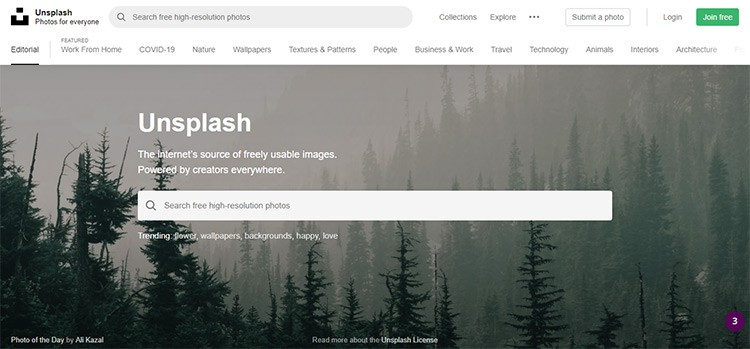 Best Free Stock Photo Sites With High-Quality Images For Personal and Commercial Use 3