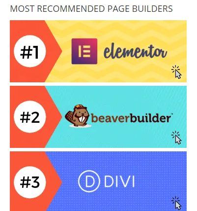 top page builder roundup